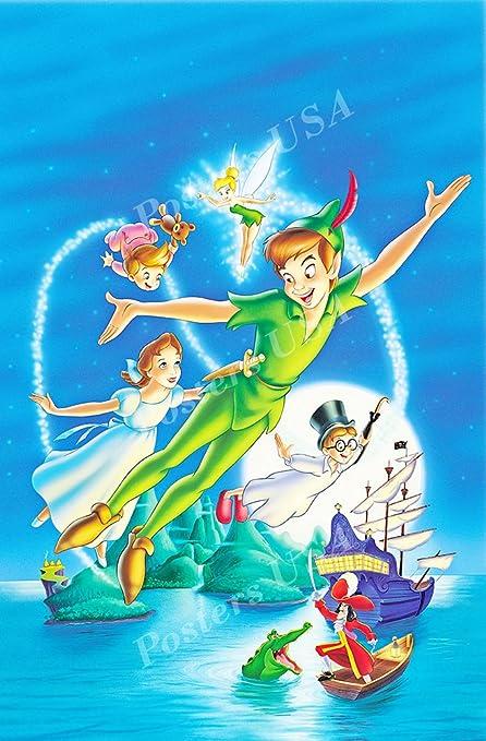 867803b62a2c0 Amazon.com: Posters USA Disney Classics Peter Pan Poster - DISN114 ...
