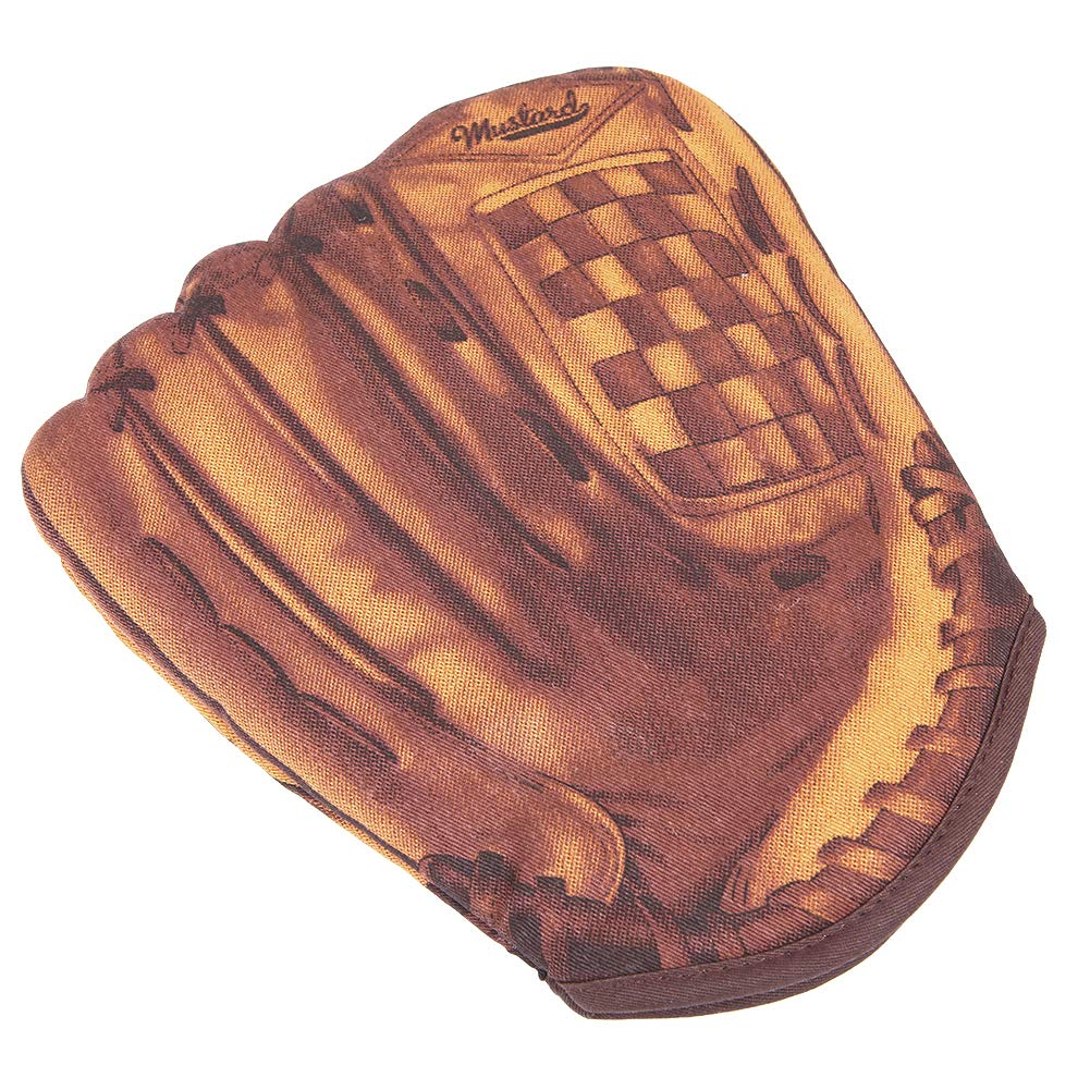 Ryncoco Baseball Oven Mitts, Fun Design, Oven Mitts Heat Resistant, Made of 100% Cotton Oven Mitt Machine Washable, Kitchen Oven Mitts