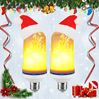 led flame effect fire light bulbscshidworld e26 led flickering flame light bulbs simulated decorative