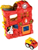 Fisher-Price Lil' Zoomers Racin' Ramps Firehouse