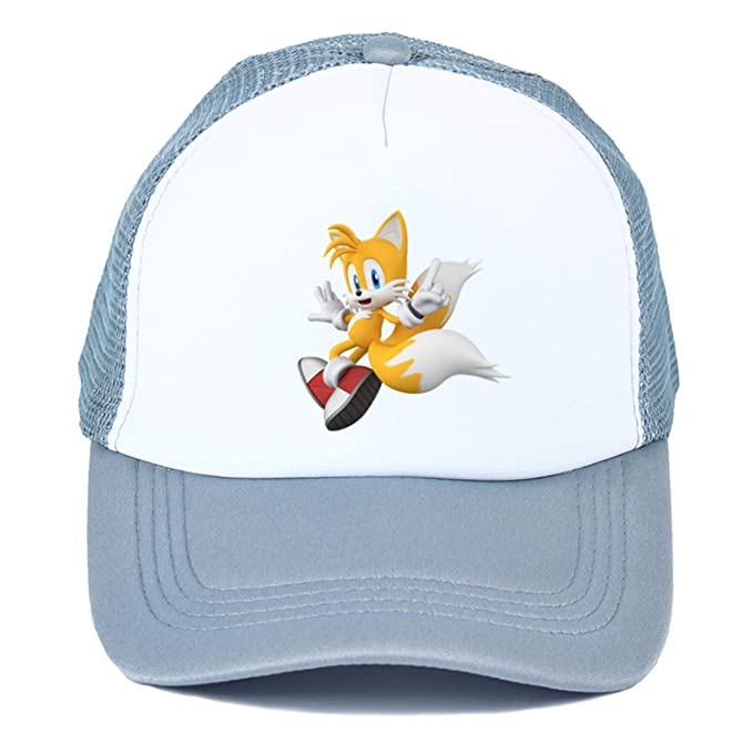 55ae207af Popular Game Animation Sonic The Hedgehog Summer nets nets hat Youth ...