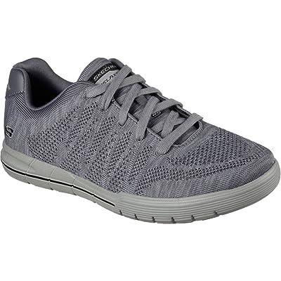 Skechers Men's Arcade II Demps Fashion Sneakers Charcoal D(M) US