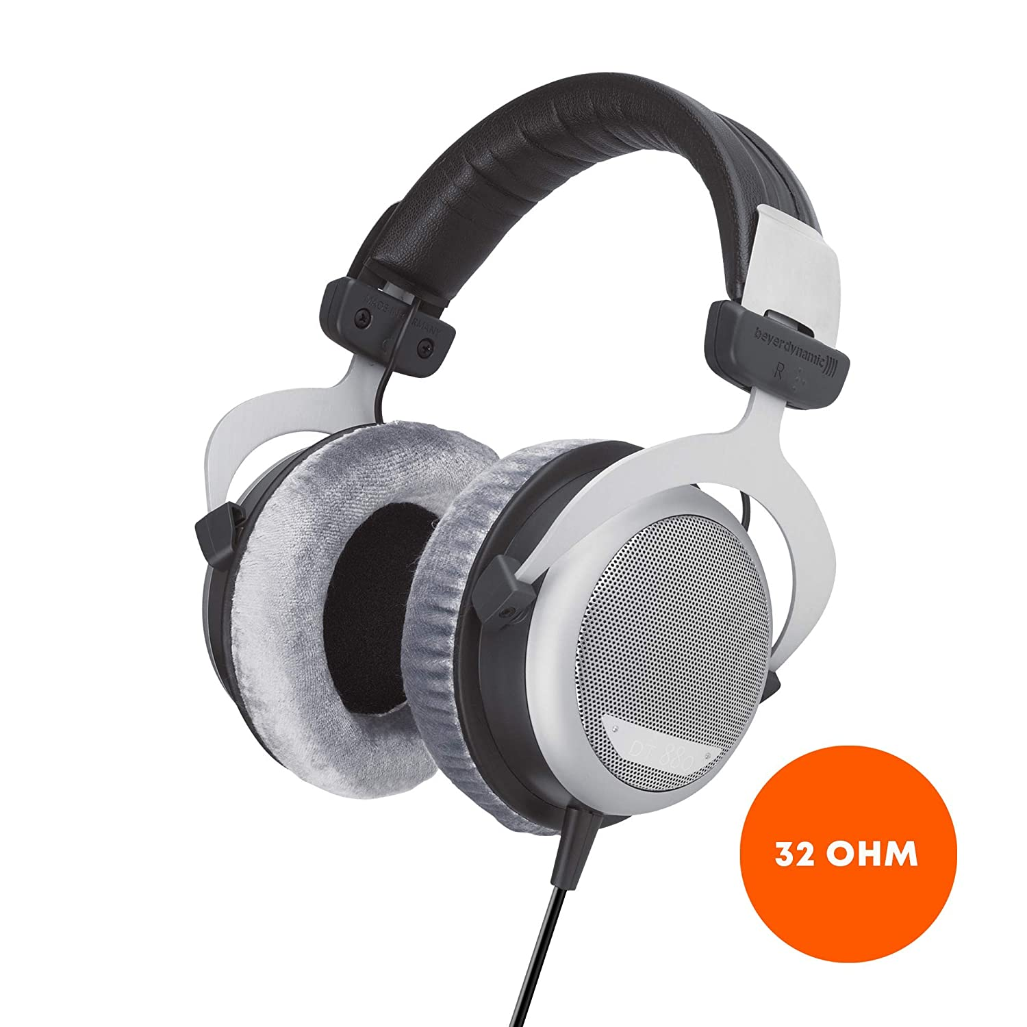 beyerdynamic DT 880 Premium Edition 32 Ohm Over-Ear-Stereo Headphones. Semi-Open Design, Wired, high-end, for Tablet and Smartphone