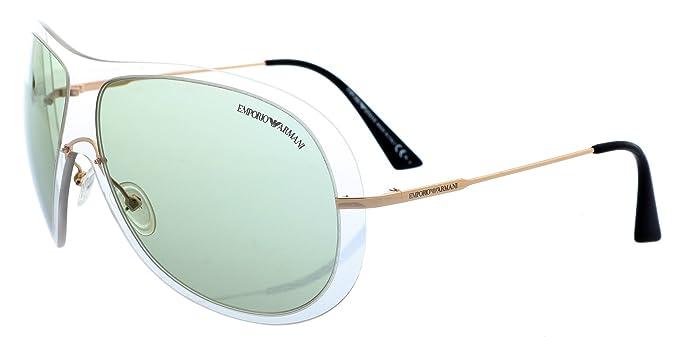 Emporio Armani Gafas de Sol EA 9720/S T1D7I Dorado: Amazon ...