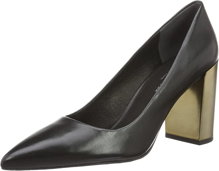 Womens Margaux Closed-Toe Pumps, Black, US Kenneth Cole