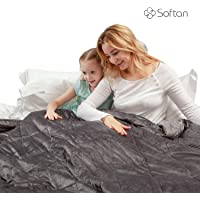 Weighted Blanket, Plush, Breathable - for Adults, Kids