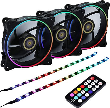 Onewatt DS Wire Rainbow LED direccionable RGB 120 mm Carcasa ...
