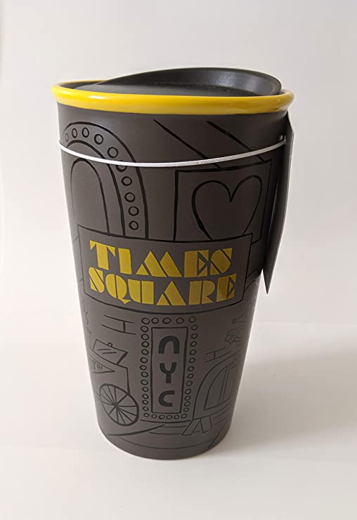 Starbucks New York Limited TIMES SQUARE Tumbler Double Wall 12 Fl Oz