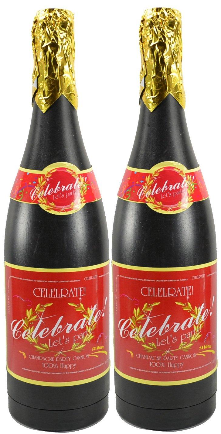 Champagne Bottle Confetti Popper 18'' (2 Pack)