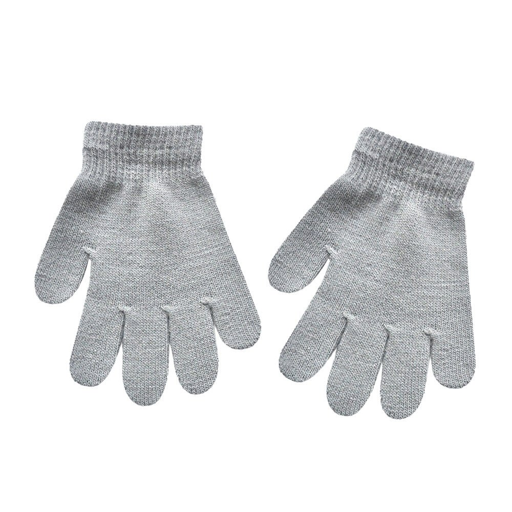 Kids Mittens Soft Warm Gloves 5-12 yrs old kids
