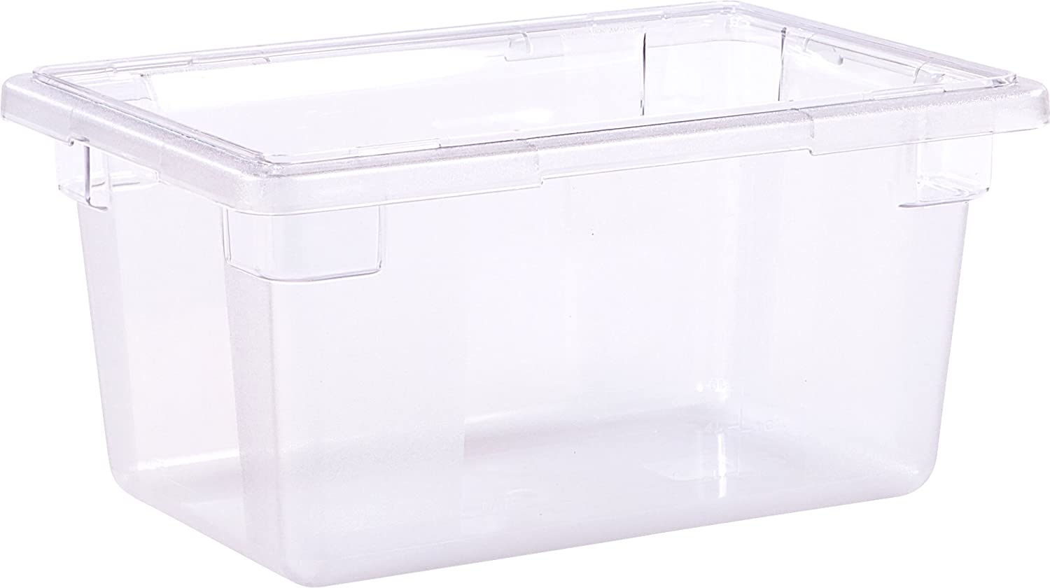 Carlisle 1061207 StorPlus Stackable Food Storage Container, 5 Gallon Tall, Clear