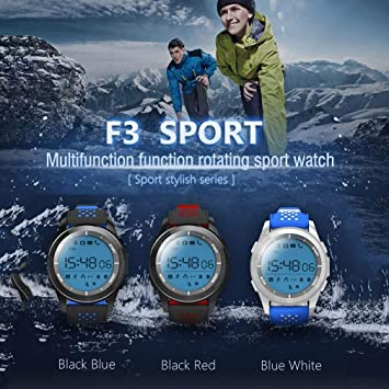 Leoboone NO.1 F3 Sports Smartwatch Dial Giratorio 30m Impermeable ...