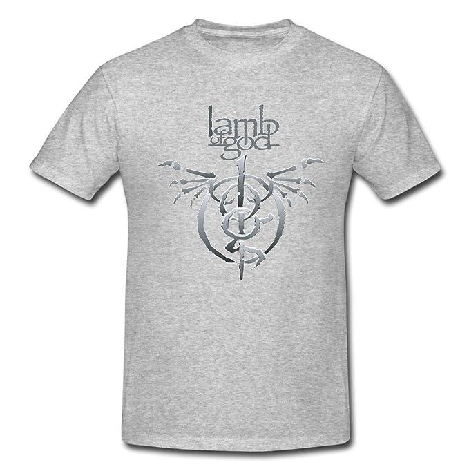 Childs Lamb Of God Band Logo T Shirt Grey 3t Amazon Clothing