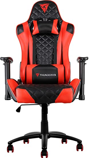 ThunderX3 Spain TGC12BR Sillas gaming profesional, Rojo
