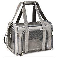 Transportador de mascotas para perros pequeños y medianos, aprobado por aerolínea