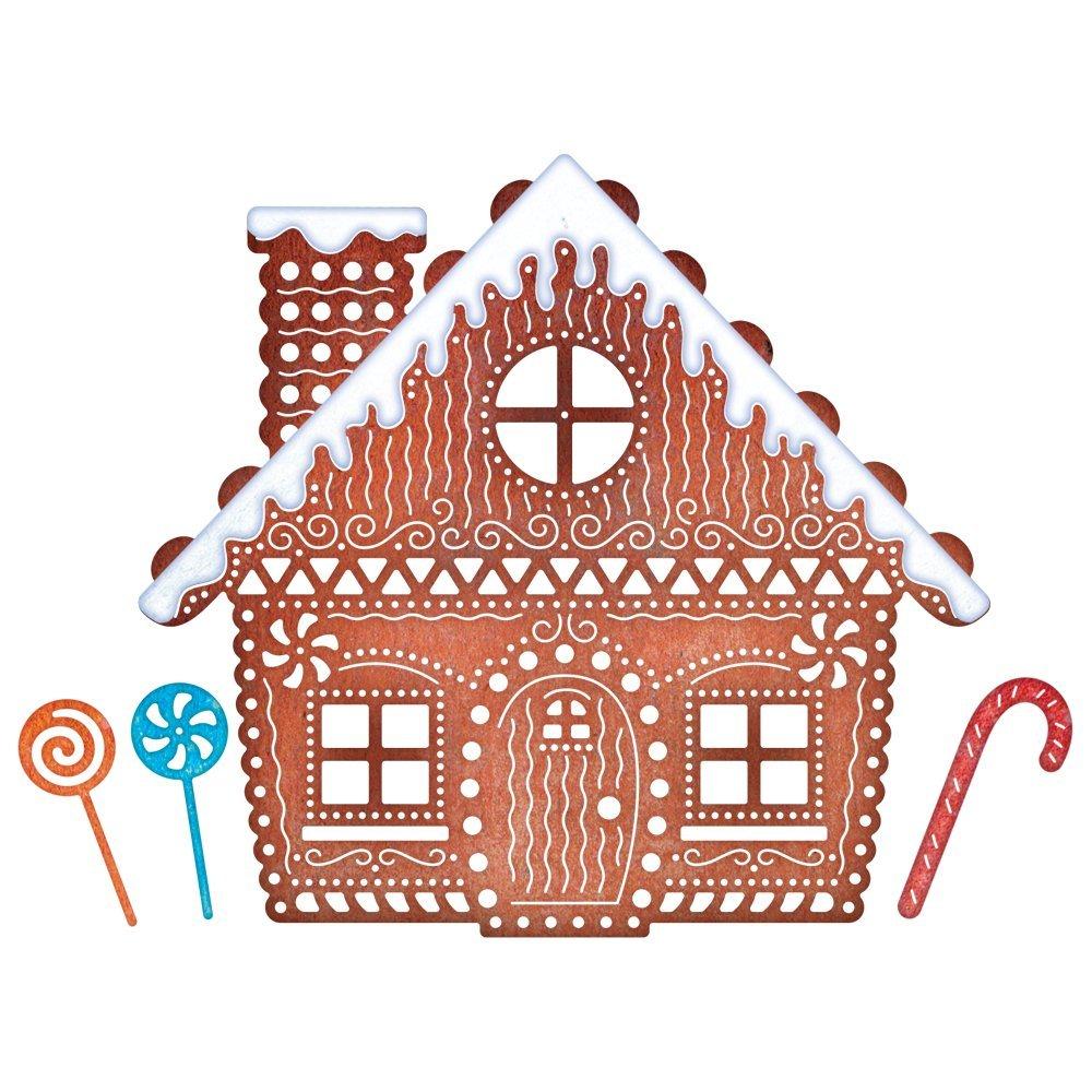 Cheery Lynn Designs B606 Gingerbread House by Cheery Lynn Designs B01FG48RTU