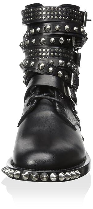 288222604a5 Amazon.com | Saint Laurent Women's Rangers Boot, Black, 40 M EU/10 M US |  Ankle & Bootie