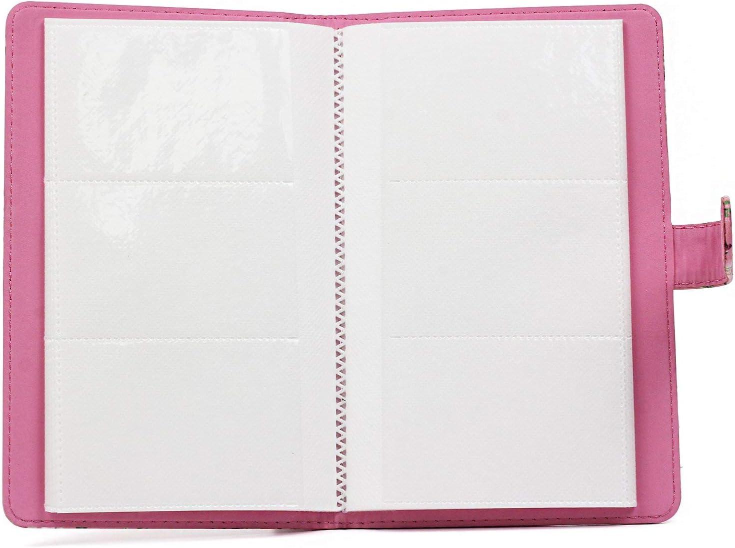 Z-SHINE 96 Pockets Wallet Photo Album for Fujifilm Instax Mini LiPlay 11 9 8 7s 90 25 70 for Polaroid Z2300 PIC-300P 96 Pockets, Blue Share SP-2 Mini Link Printer