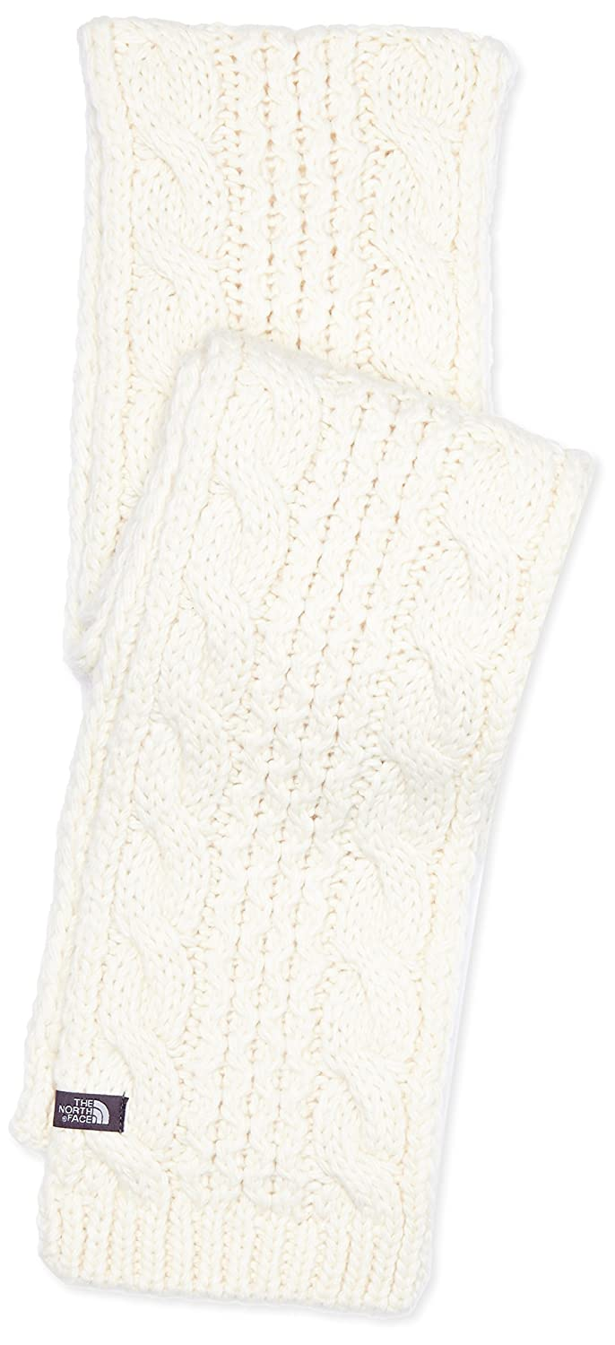 The North Face Cable Minna Scarf - Bufanda unisex, color blanco, talla OS