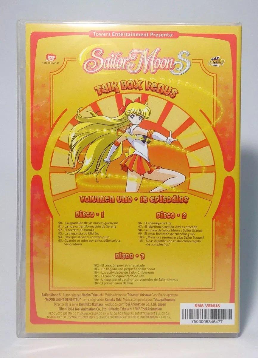 Amazon.com: Sailor Moon S Talk Box Venus Vol. 1 Español Latino: Movies & TV