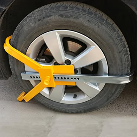 Amazon.com: Yescom Car Tire Wheel Lock 20 Holes Adjust Auto Truck Anti-Theft Security Towing Device: Automotive