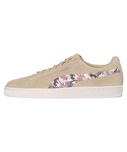 premium selection 090f3 c78e8 Puma Sneakers Suede Sunfade Stitch Women Beige Size 40.5 ...