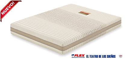 Dorwin 2454140031 - colchón de Latex enfundado dorwn Natur talalay Art 90x182cm