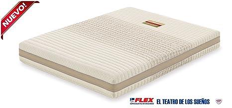 Dorwin 2454140031 - colchón de Latex enfundado talalay Art 150x200 cm