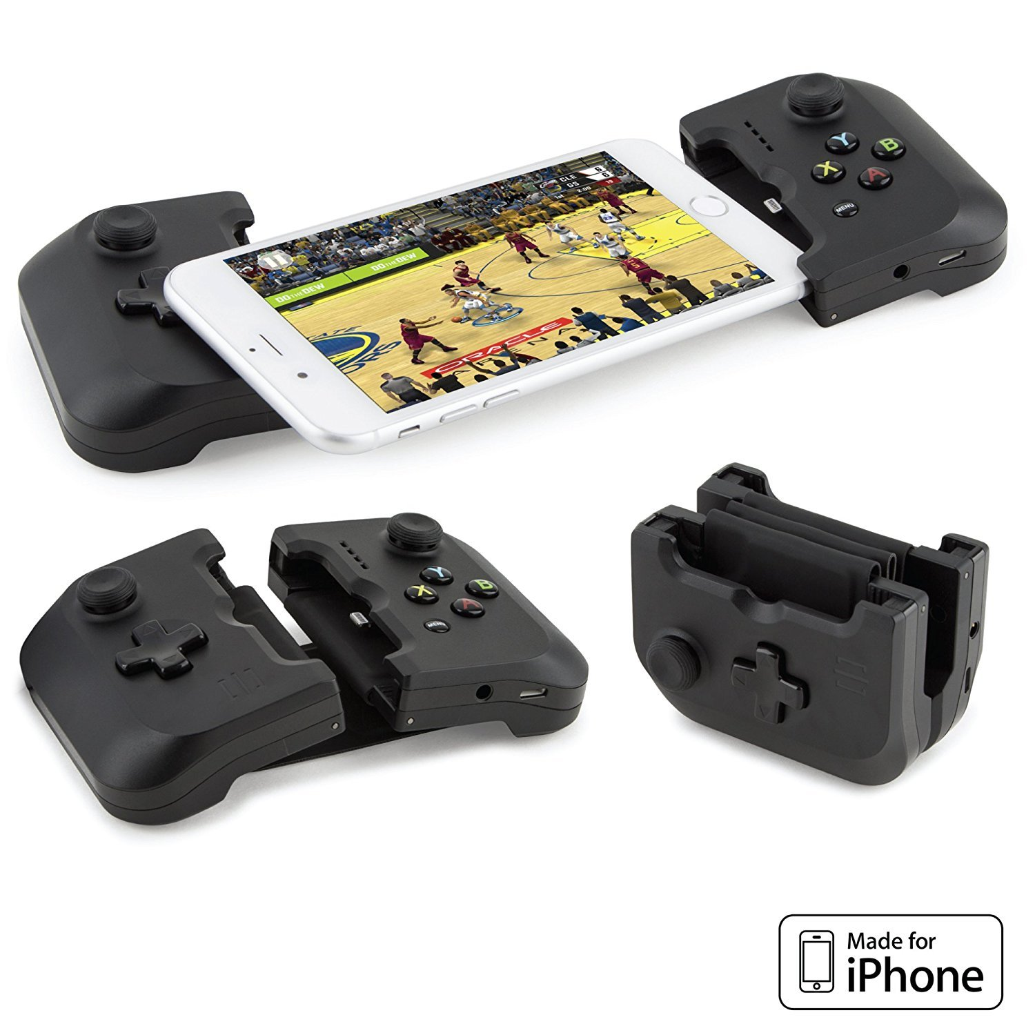 low priced bc57b e24a2 Gamevice Controller – Gamepad Game Controller iPhone X/XS/XS Max/8/7/6 &  Plus [Apple MFi Certified] [DJI Spark, Tello, Sphero Star Wars] - 1000+ ...
