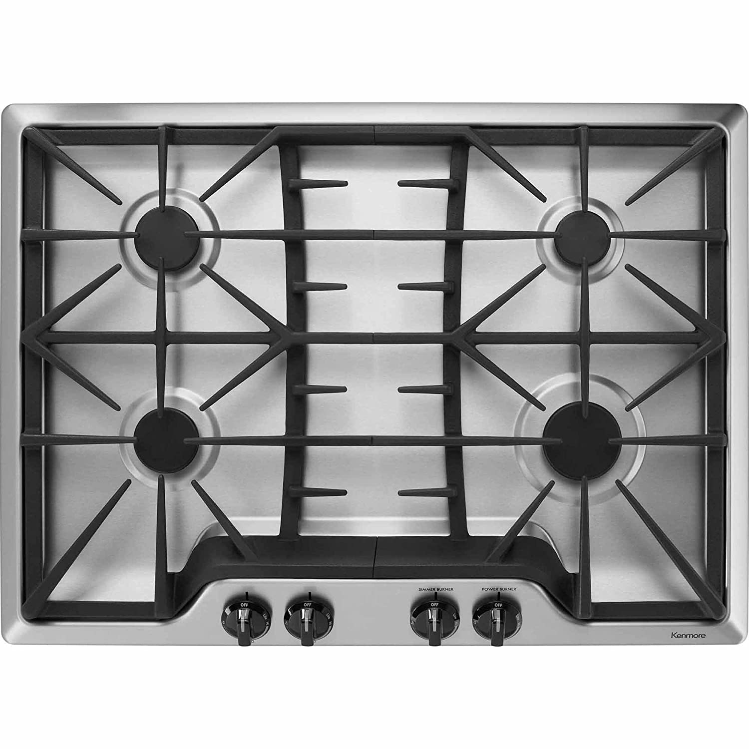 Kenmore 32533 30' Gas Cooktop in Stainless Steel, includes delivery and hookup Sears Brands Management Corporation (Kenmore) 02232533