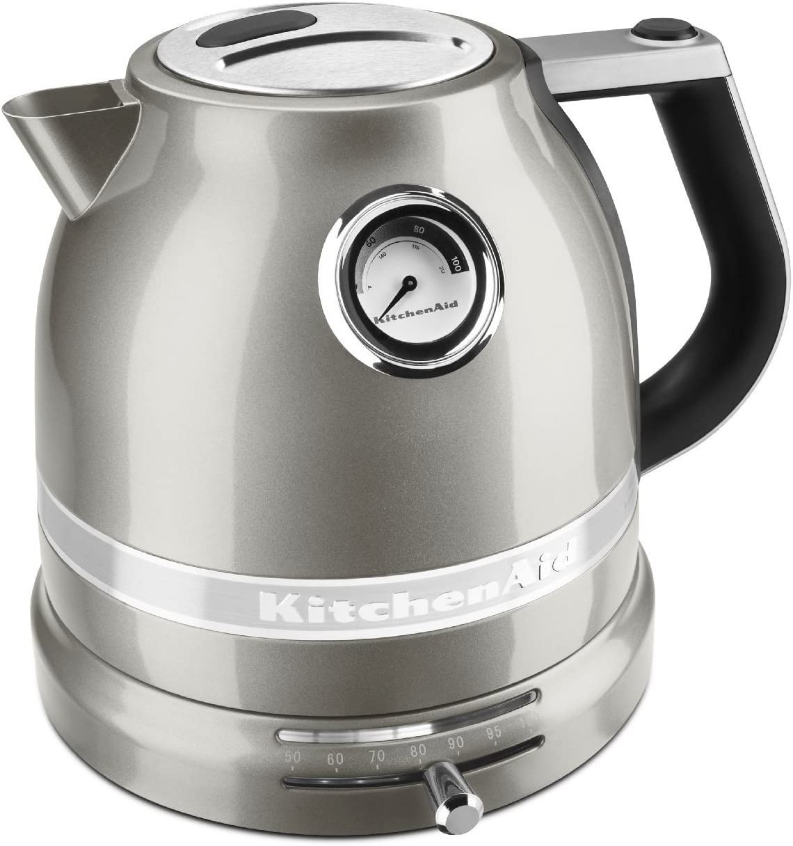 KitchenAid KEK1522SR Pro Line Sugar Pearl Silver 1.5 Liter Electric Kettle