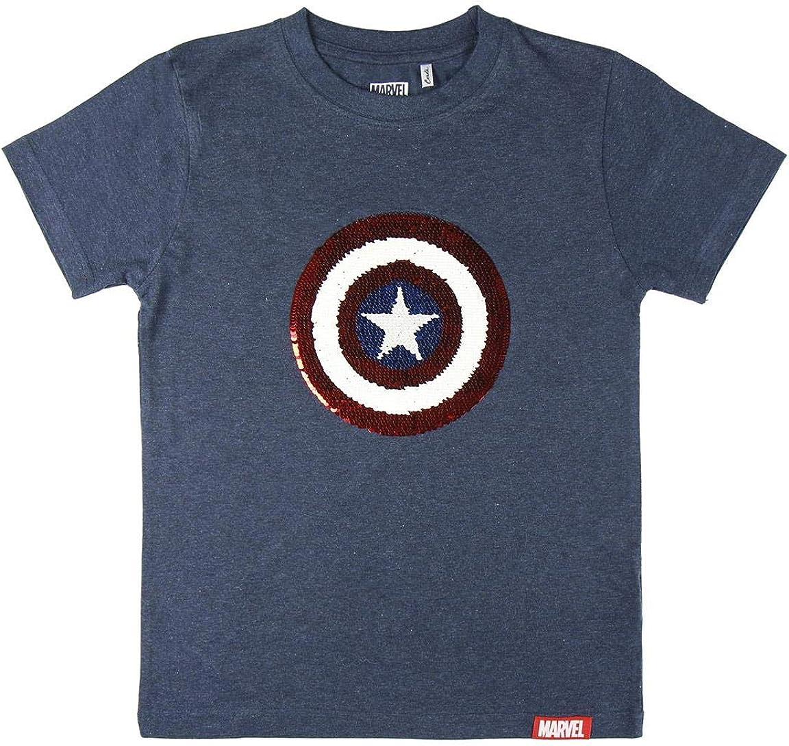 T-shirt maglia bambino originale con etichetta MARVEL CAPITAN AMERICA CAPB16.BR