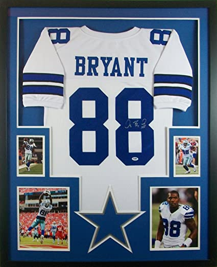 uk availability 248c7 71a4d Dez Bryant Dallas Cowboys Autograph Signed Custom Framed ...