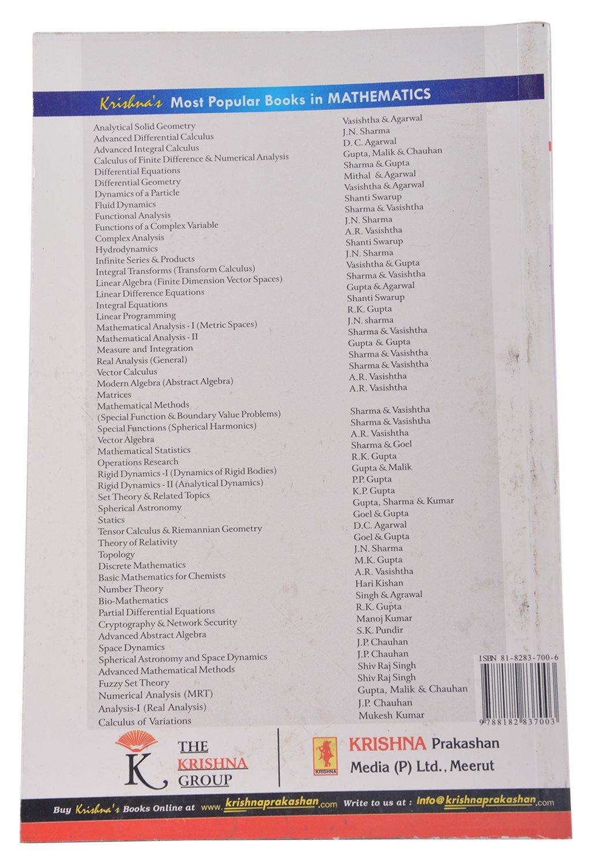 Linear Algebra Book By Ar Vasishtha Pdf
