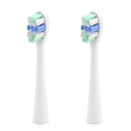 usmile Cabezales de repuesto de cepillo de dientes eléctrico Sonic para la serie U1 (paquete