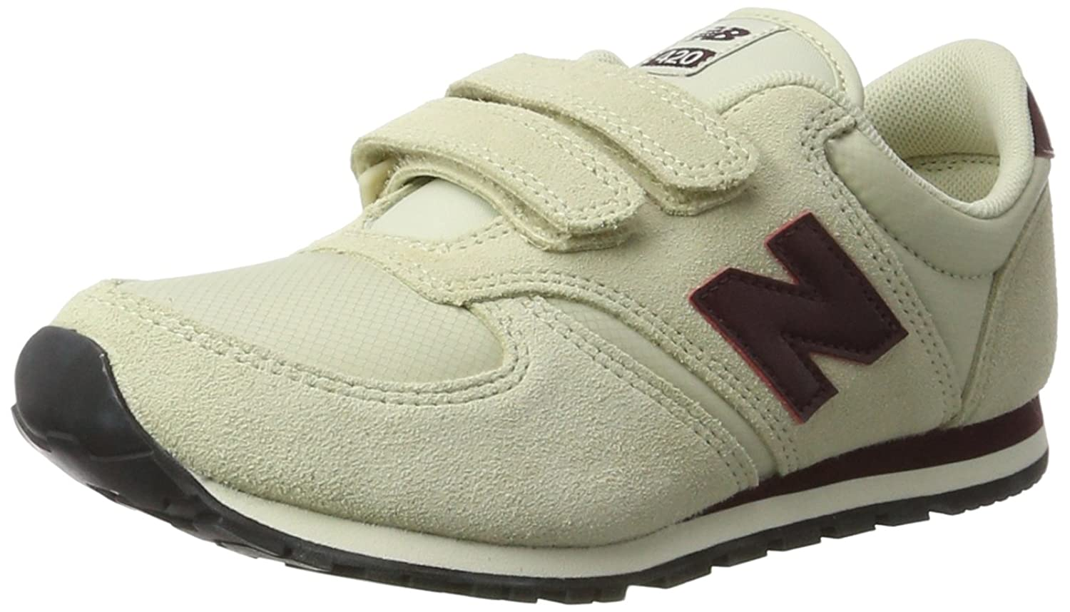 New Balance 420v1, Baskets Mixte Enfant, Bleu (Navy/Burgundy), 35 EU