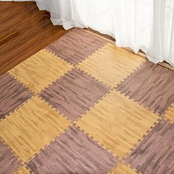 W&lx Esteras, Piso de Madera alfombras esteras del ...