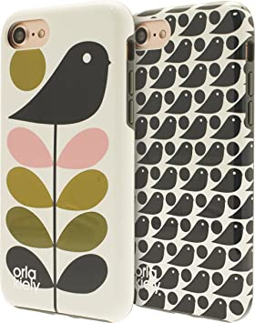 brand new 93449 7f23a Orla Kiely: Early Birds Twin Pack - Official iPhone: Amazon.co.uk ...