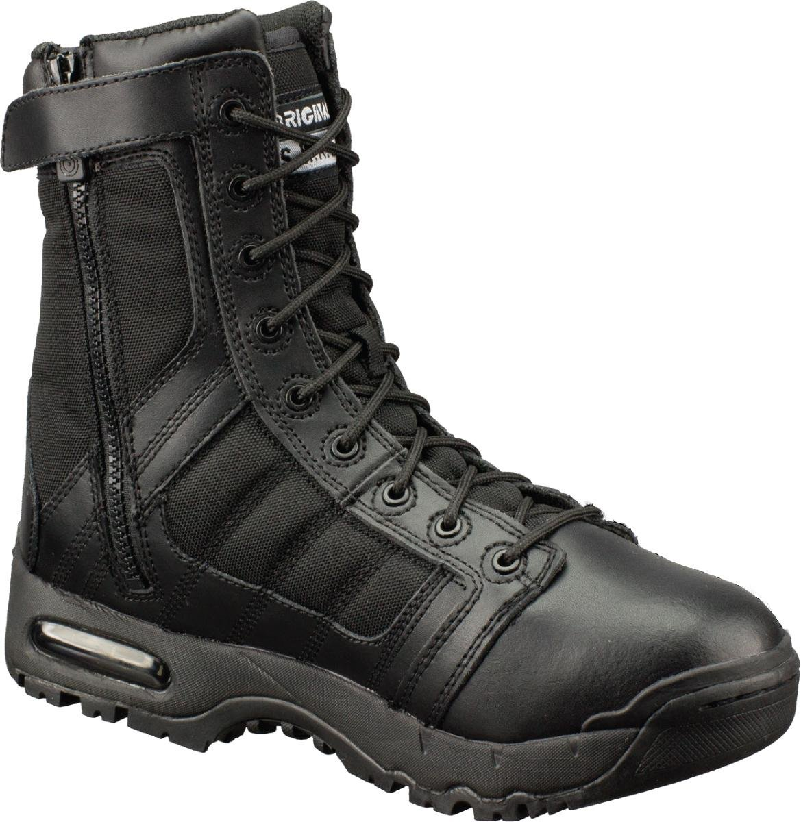 "Original Swat Men's Air 9"" Side Zip Boots,Black,7 M"