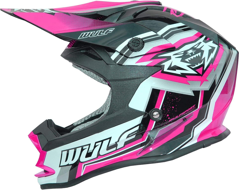 Wulf Cub Vantage Junior Motocross Helmet