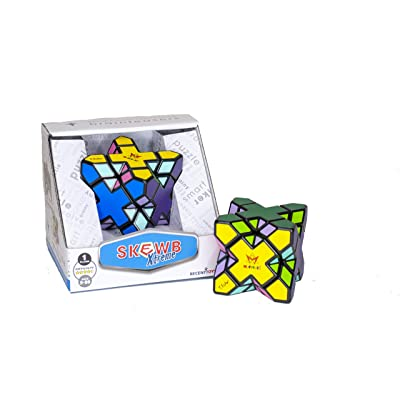 SKEWB XTREME by Mefferts- Speed Cube, One-player games, Twisty Puzzle, Brain Teasers: Toys & Games