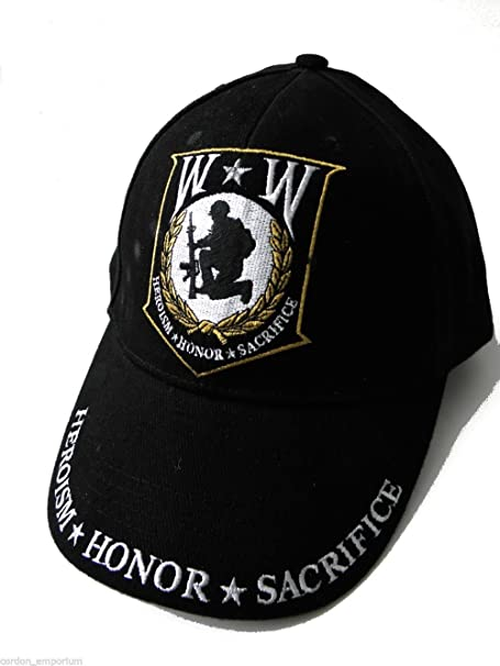 Wounded Warrior Embroidered Low Profile Cap - Ships within 24 Hours ... 398c69f454e