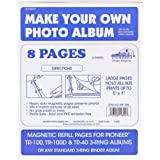 Magnetic Refill Pages For Pioneer TR-100, TR-100D and TR-40 (8 Pages)