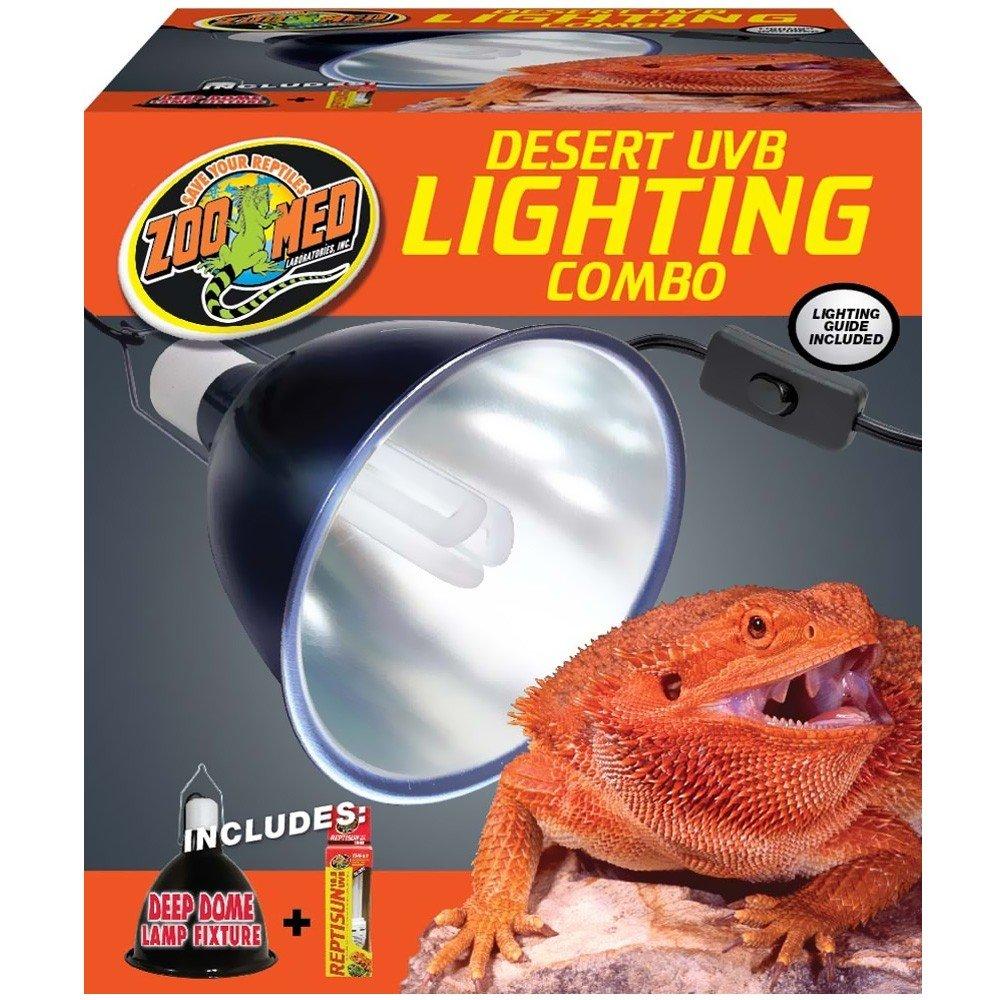 Zoo Med Combo Pack Desert UVB Lighting