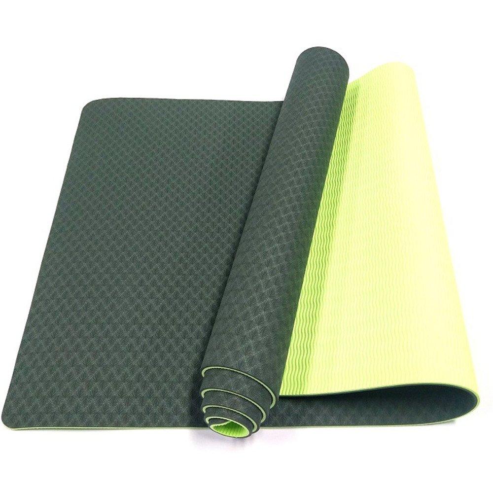 QAR Umweltfreundliche Fitness-Matte Yogamatte Turnhalle Familie Yoga-Matte Yoga Matte