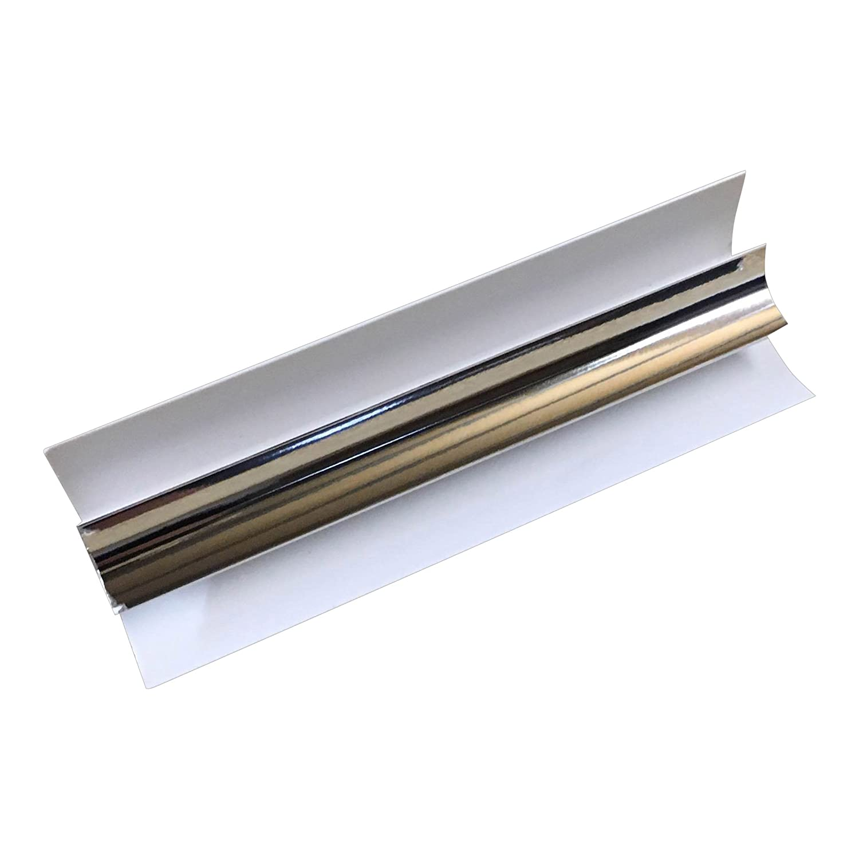 Bathroom ceiling cladding pvc panels - Silver 8mm Internal Corner Trim For Bathroom Cladding Panels Pvc Wet Wall By Dbs