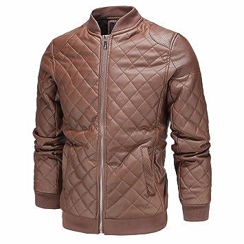 Hombres de piel chaquetas invierno chaquetas de piel Para ...