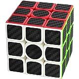 Zauberwürfel 3x3x3 Coolzon® Speed Cube Würfel Carbon Faser Aufkleber Neue Geschwindigkeits Super Schnell und Glatt
