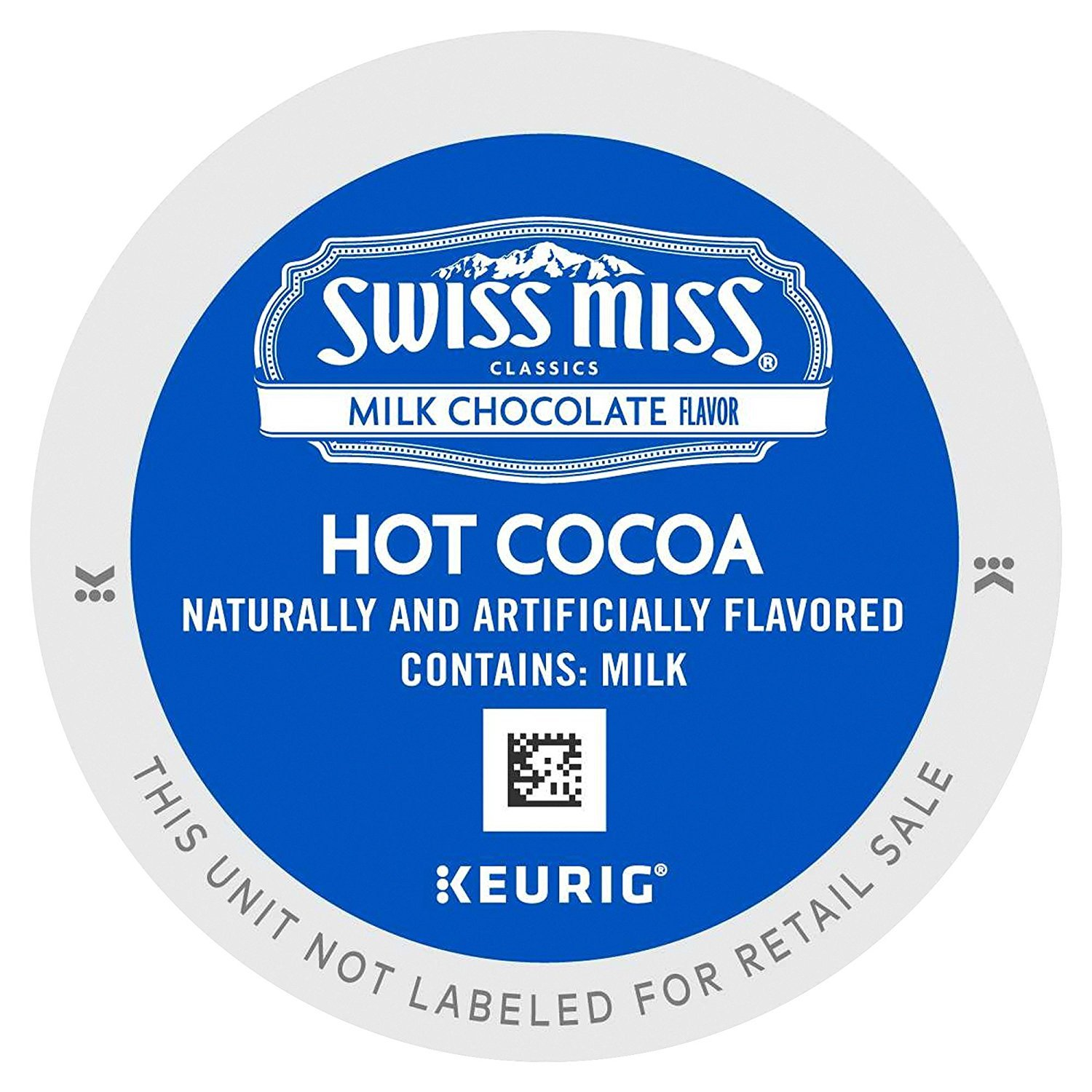 Swiss Miss Milk Chocolate K-Cups for Keurig Brewers (48 Count)
