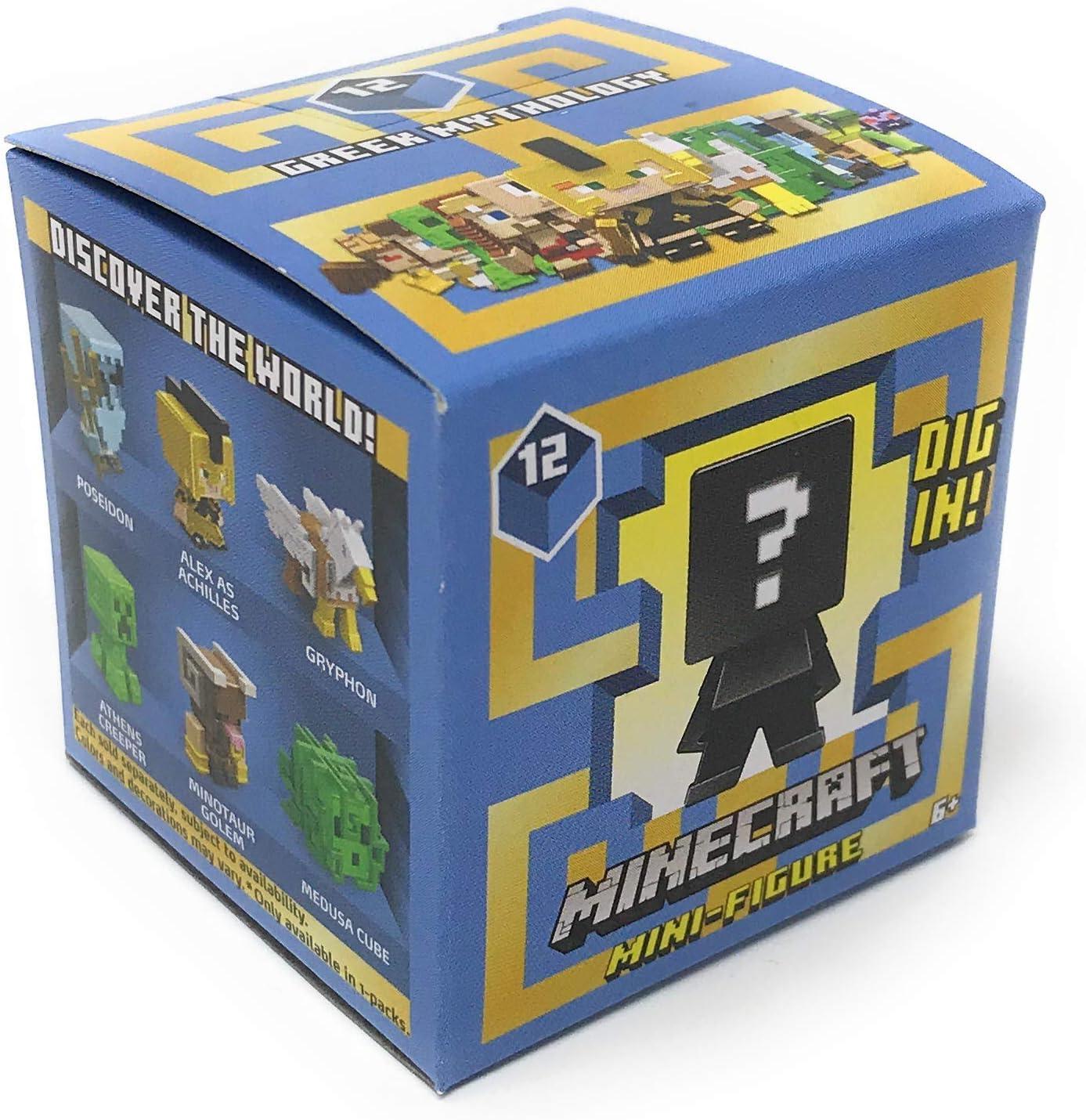 Minecraft Series 12 Greek Mythology Mini Figure Set with Exclusive Hydra Harpy
